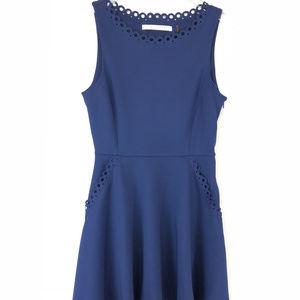 Susana Monaco   Embroidered Dress (Size 6)